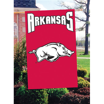 Arkansas Applique Banner Flags