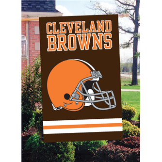 Browns Applique Banner Flags