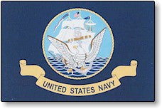 The Flag of US Navy