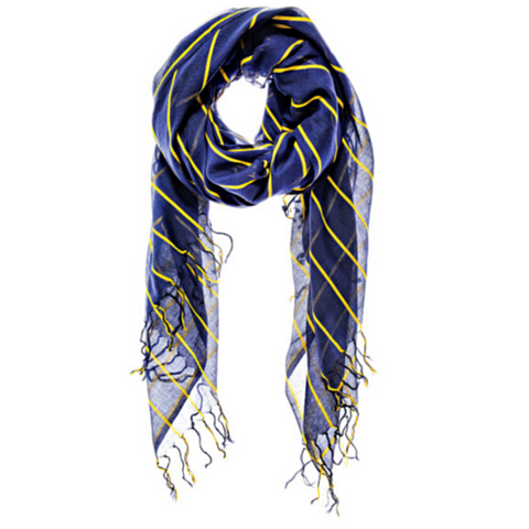 Lovely Rita Scarf Navy by Aish