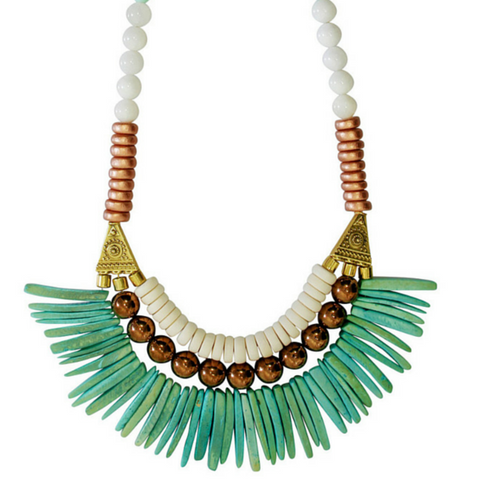 Turks & Caicos Statement Necklace