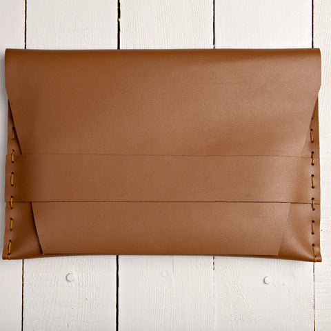 Envelope Clutch Caramel