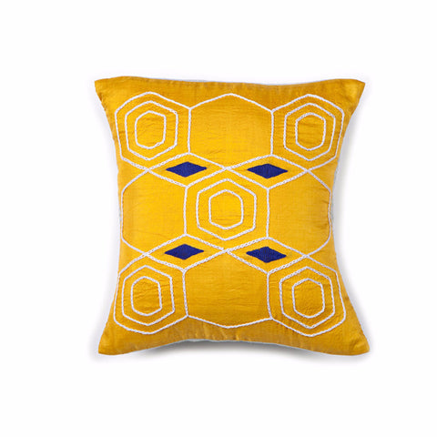 Lemonade Peace Silk Pillow Cover