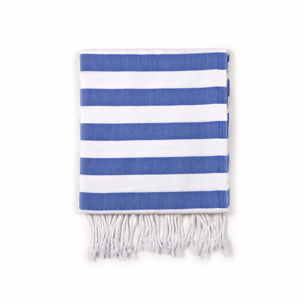 Royal Blue Turkish Fouta Hammam Towel
