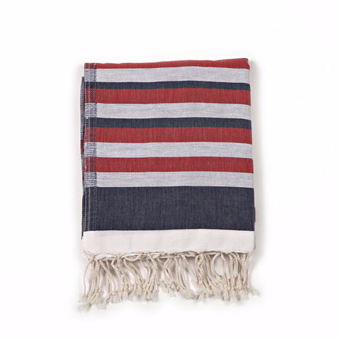 Dual-Sided Fouta Towel - Americano