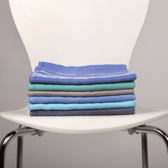 Classic Turkish Fouta Hammam Towel - Sweet Blue