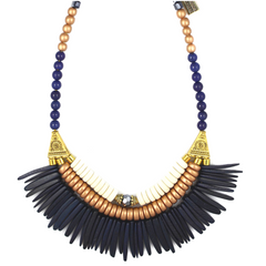 Indigo is Hue Statement Necklace