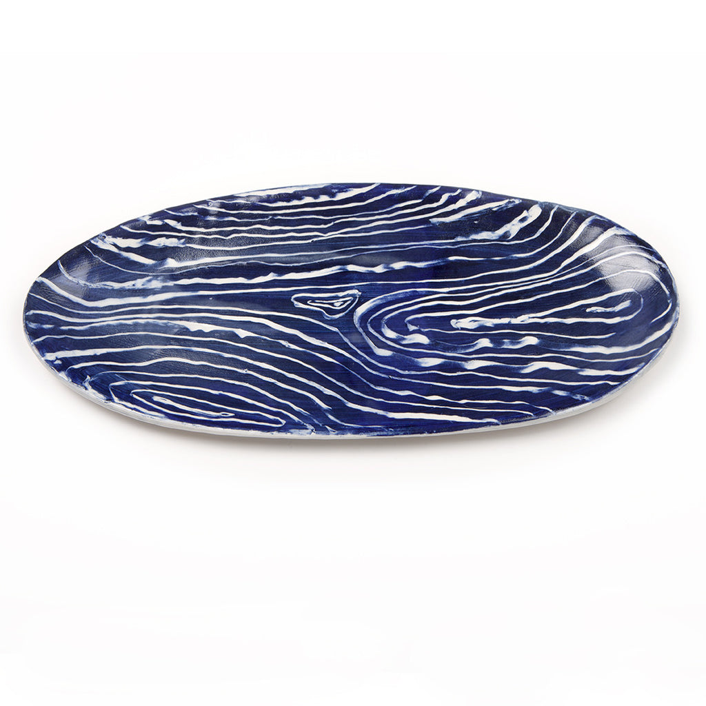 Wood Grain Serving Platter