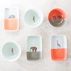 Double-Dipped Trinket Tray - Elephant