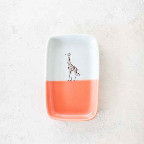 Double-Dipped Trinket Tray - Giraffe