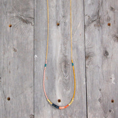The Free Spirit Necklace Pink