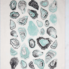 Oyster Tea Towel Mint