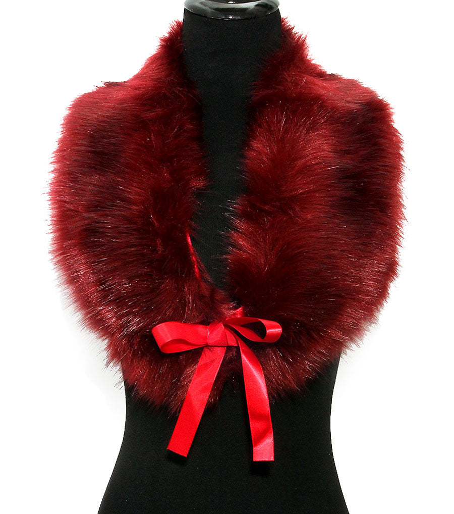 Faux Fur Muffler - The Jewelry Lady - 5