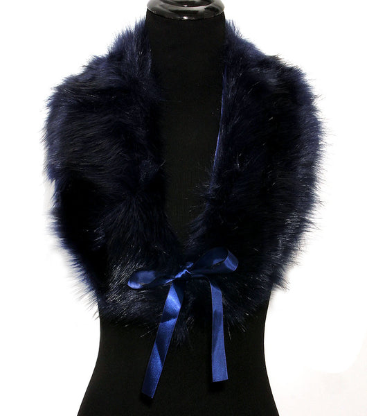 Faux Fur Muffler - The Jewelry Lady - 1
