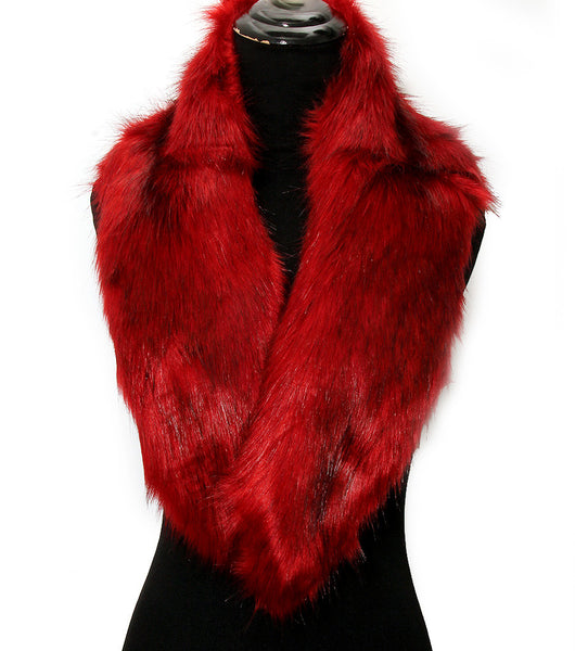Fur Neck Warmer - The Jewelry Lady - 1