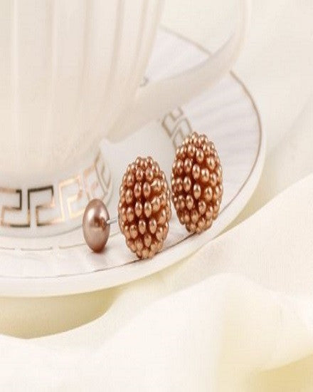Double Pearl Earrings - The Jewelry Lady - 4