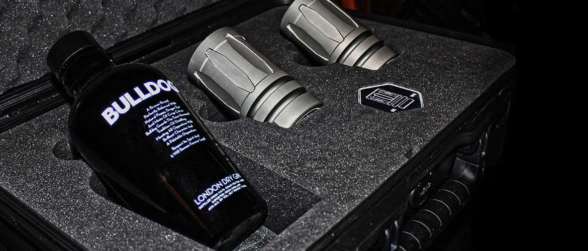 Muzzleshot Sine Case and Middy Custom Cases