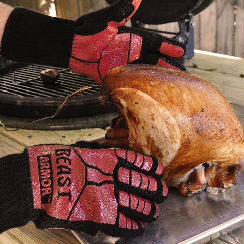 Beast Armor BBQ Grilling Cooking Gloves