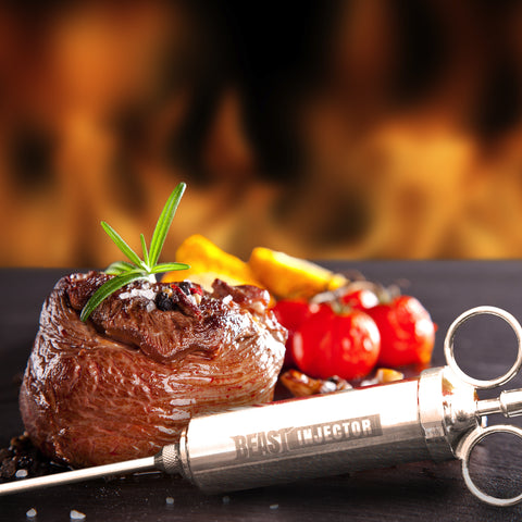 Beast Injector Stainless Steel Meat Injector Kit