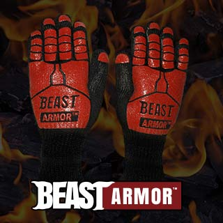 Beast Armor BBQ Gloves