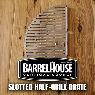 Slotted Half-Grill Grate