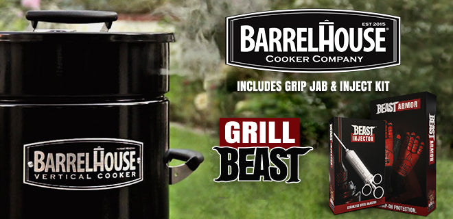 Barrel House Smoker Package
