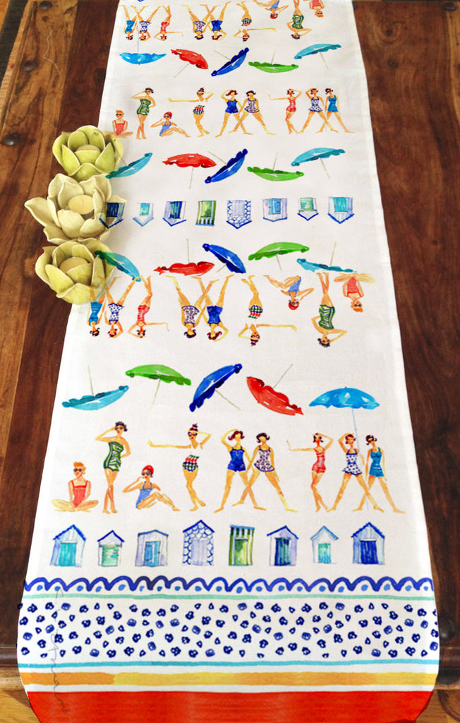 Beach Babe Table Runner