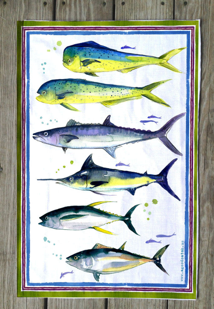 Serious Fishing Towels