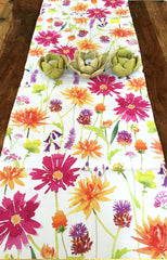 Bright English Floral Runner