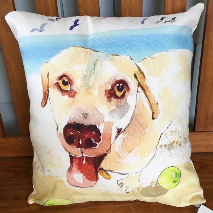 Doggie Antics Pillow