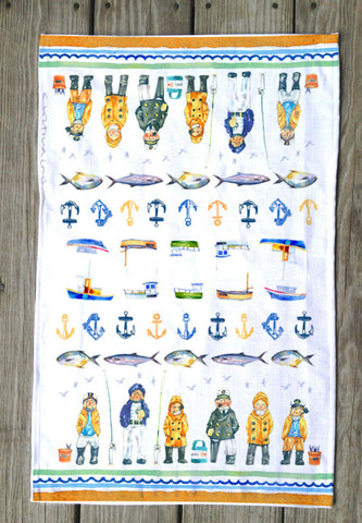 Fisherman's T Towel