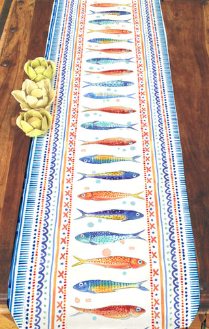Funky Fish Table Runner