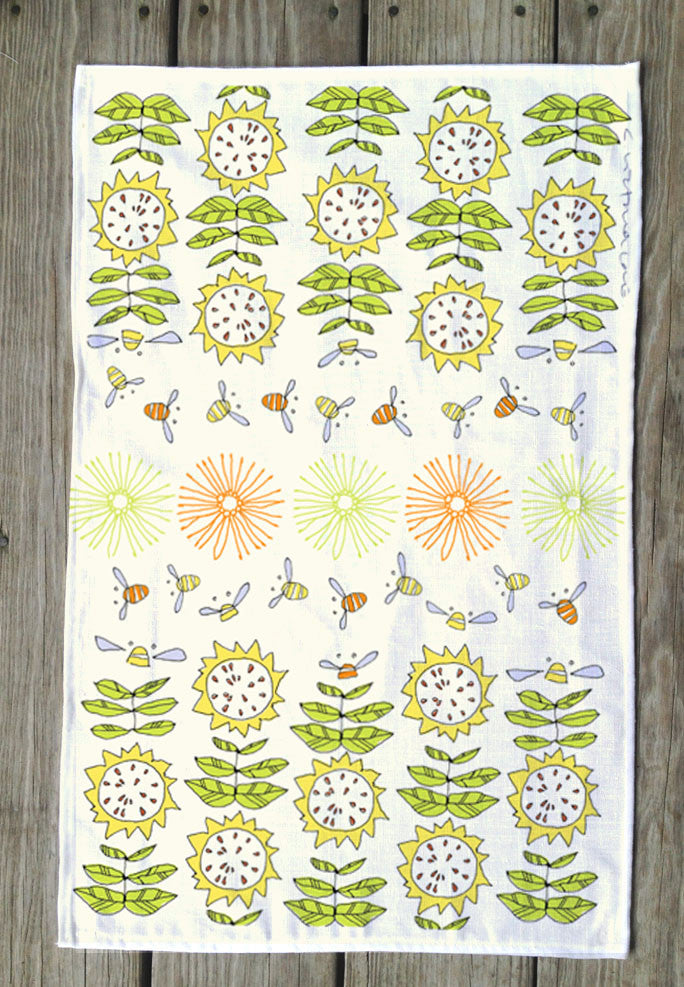 Honey Bee T Towel