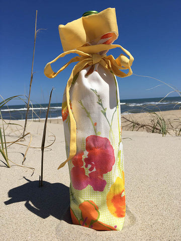 Wine Bottle bag-Little bit of Sunshine