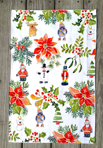 Jolly Holly T Towel