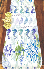 Seahorse Table Runner