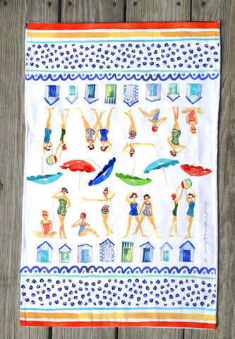 Beach Babes T Towels