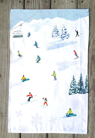 Fresh snow T Towel