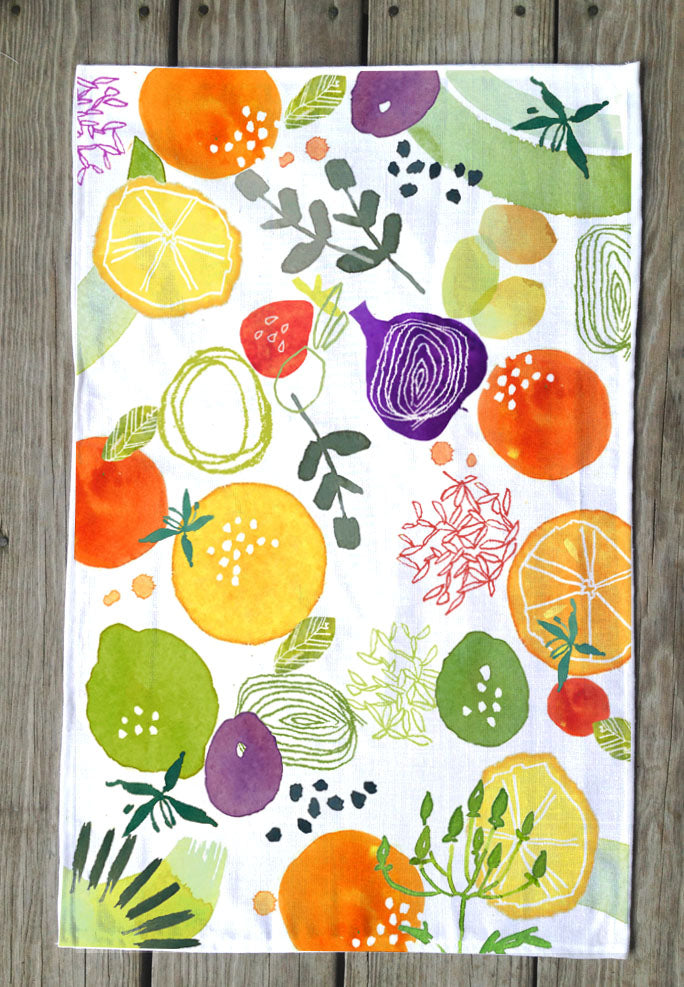 Fresh Fruit T Towels