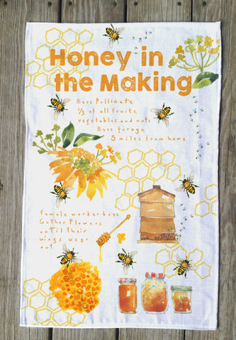 Honey Maker T Towels