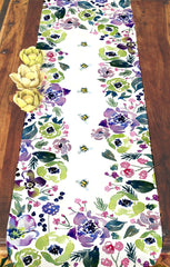 First to Bloom Table Runner