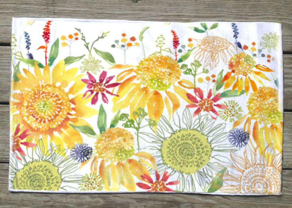 Sunshine floral Placemat