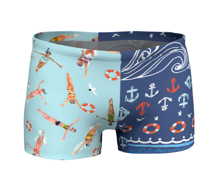 Swimmers Sporty Shorts