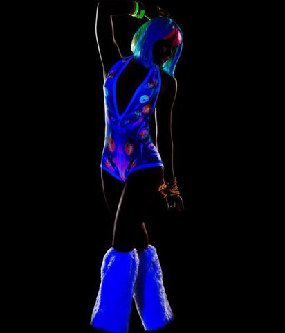 blacklight rave clothing