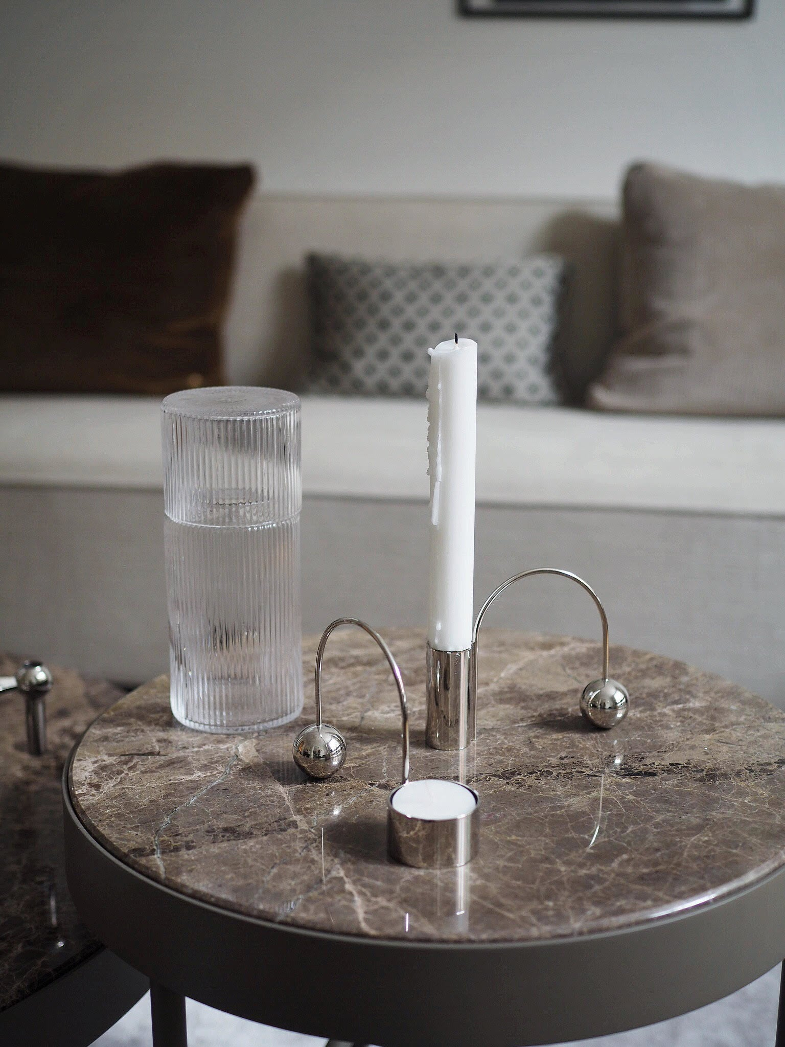 balance candle holder paris sete ferm living