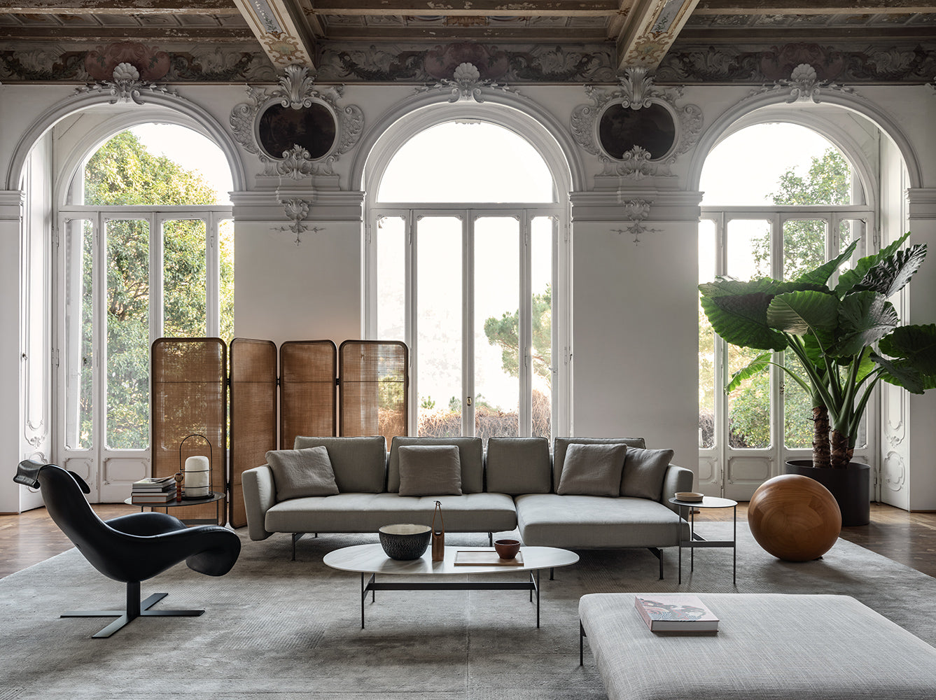 b&b italia sofa piero lissoni