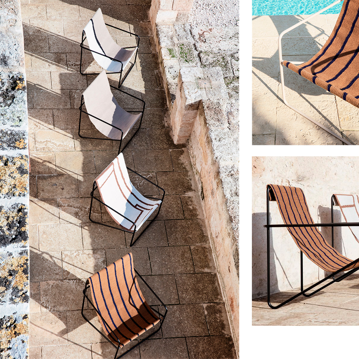 desert lounge chair ferm living