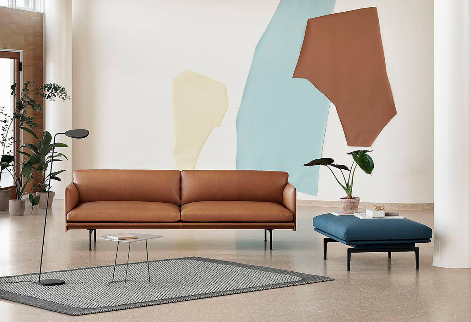 sofa outline muuto