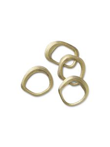 flow napkin rings ferm living