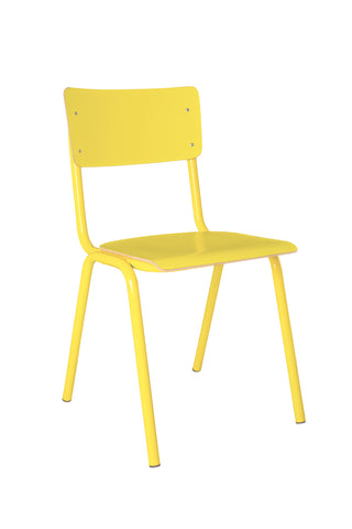 Back to School Chair Yellow (Pack of 4) - Paris-Sete